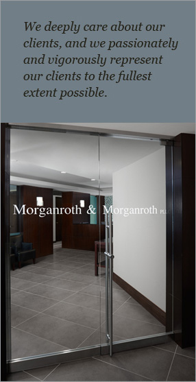 We deeply care about our clients, and we passionately and vigorously represent our clients to the fullest extent possible